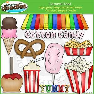 Carnival Food Clip Art