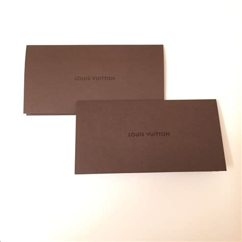 louis vuitton other soldauthentic lv envelope receipt