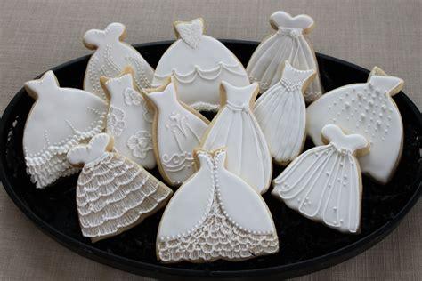 bridal shower cookie favors wedding dress cookie favors sweet 16 bridal shower prom