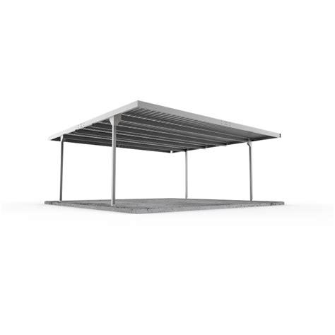 Absco Sheds 55 X 55 X 225m Zincalume Skillion Roof