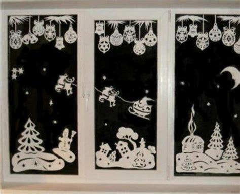 Fensterdeko Weihnachten Schule by Bezaubernde Winter Fensterdeko Zum Selber Basteln
