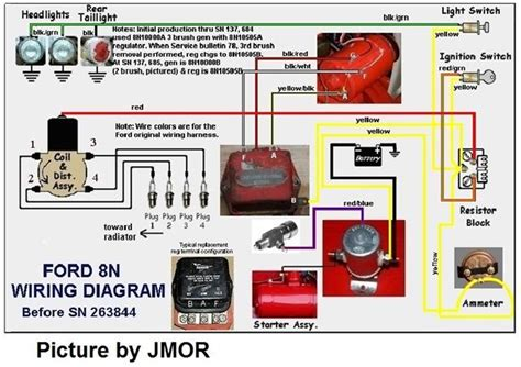Ford 8n Coil Wiring by 6 Volt Coil Question Mytractorforum The