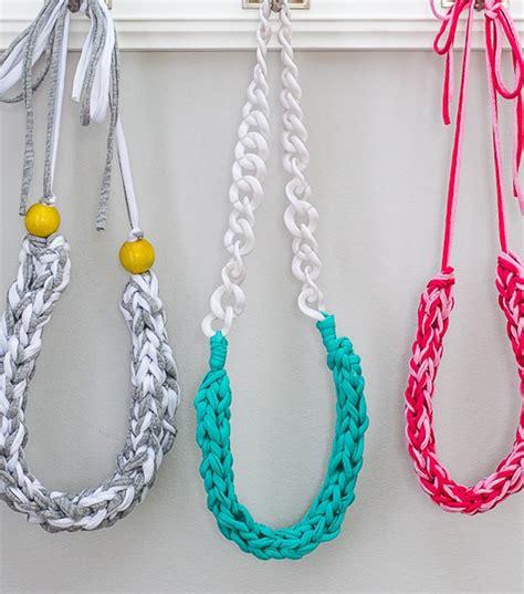 shirt yarn necklace joann