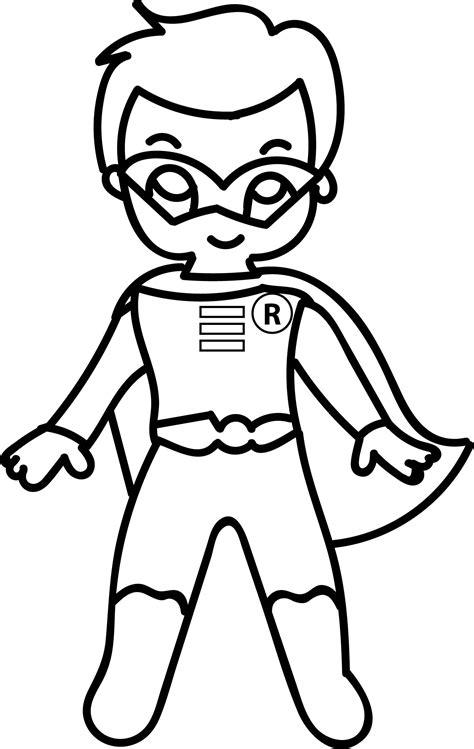waiting cartoon superheroes superman kid coloring page
