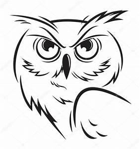 owl vector — Stock Vector © YurikswO #59034819
