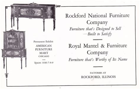 Rockford National Furniture Co., Rockford Mantel And