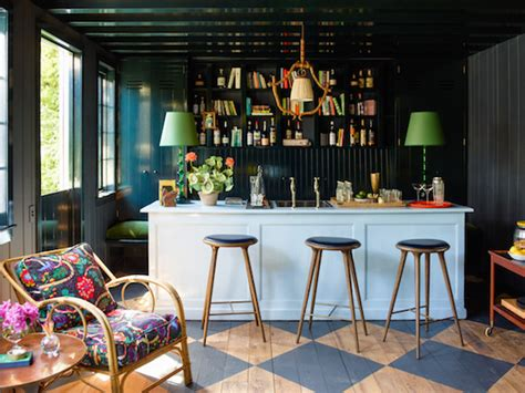 17 home bars where it s always cocktail time the study