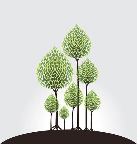 tree illustration artwork ai svg eps vector