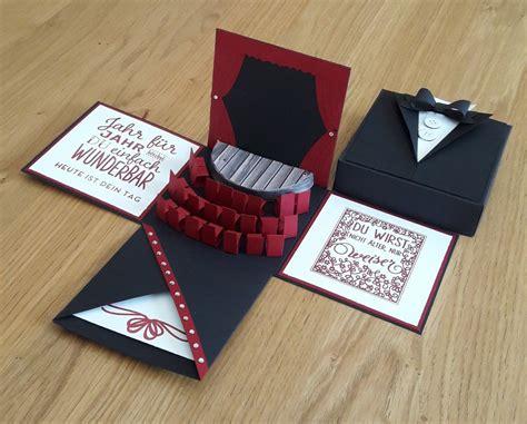 gutscheine schön verpacken anleitung explosionsbox f 252 r ein theater musical wedding invitations gutschein basteln theater