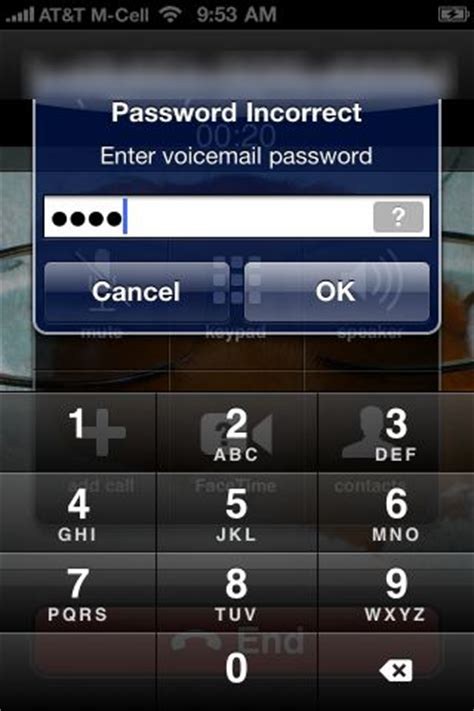 how to leave a voicemail without calling iphone how to fix quot visual voicemail quot bug on iphone 4