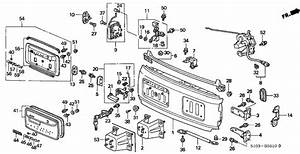 1999 Honda Crv Parts Diagram