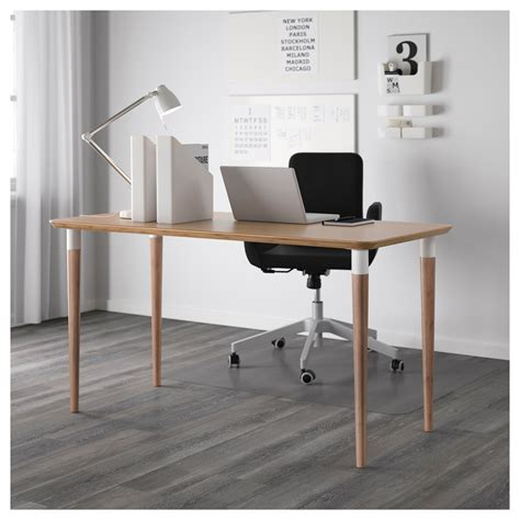 ikea desk tops and legs hilver table top bamboo 140x65 cm ikea
