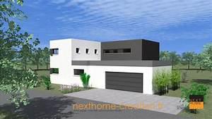 trendy intrieures with maison moderne toit plat With charming photo maison toit plat 5 photo de maison neuve toit plat