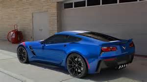 2017 Corvette Stingray Blue