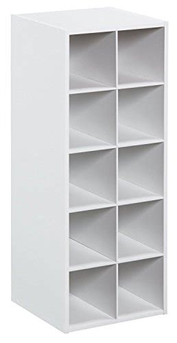 closetmaid stackable 3 cube organizer white closetmaid 1545 stackable 10 cube organizer white