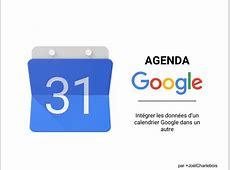 Importer un calendrier dans Google Agenda Merge calendar