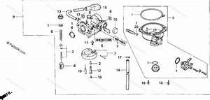 Honda Atv 2000 Oem Parts Diagram For Carburetor