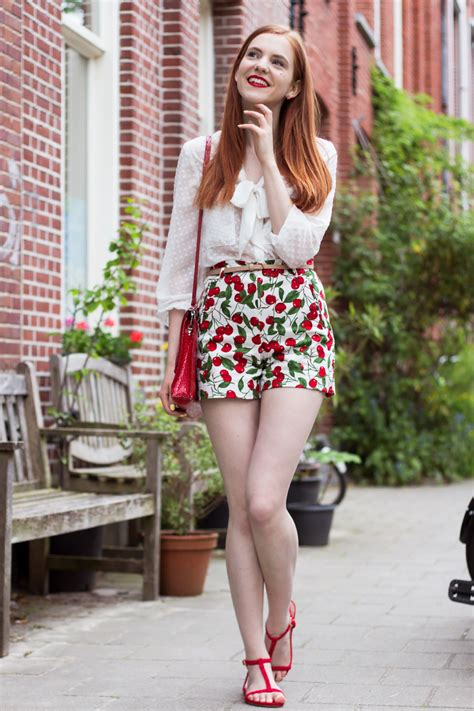 Outfit   Cherry Summer - Retro Sonja