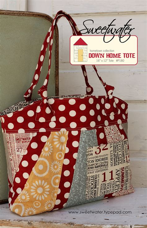 home tote  pattern