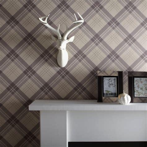 arthouse vintage fairburn tartan check pattern textured