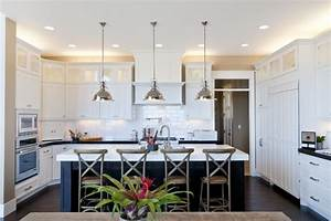 u shaped kitchen transitional kitchen candlelight homes With best brand of paint for kitchen cabinets with restoration hardware wall art