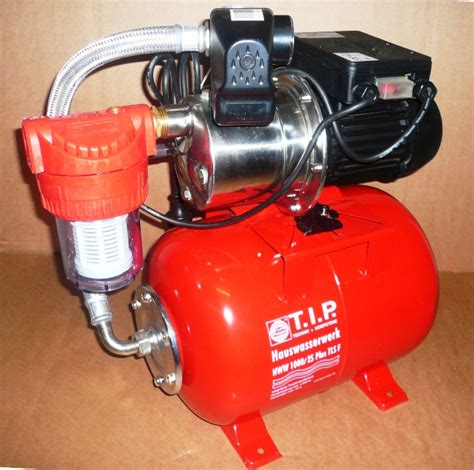 tip hauswasserwerk inox 1600 tls t i p hauswasserwerk hww 1000 25 tls plus f gartenpumpe inox pumpe mit vorfilter ebay
