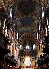 St. Paul Cathedral London Interior