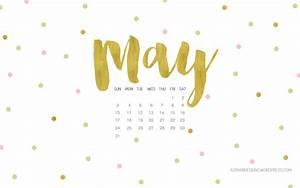 May 2015 Desktop Wallpaper Calendar