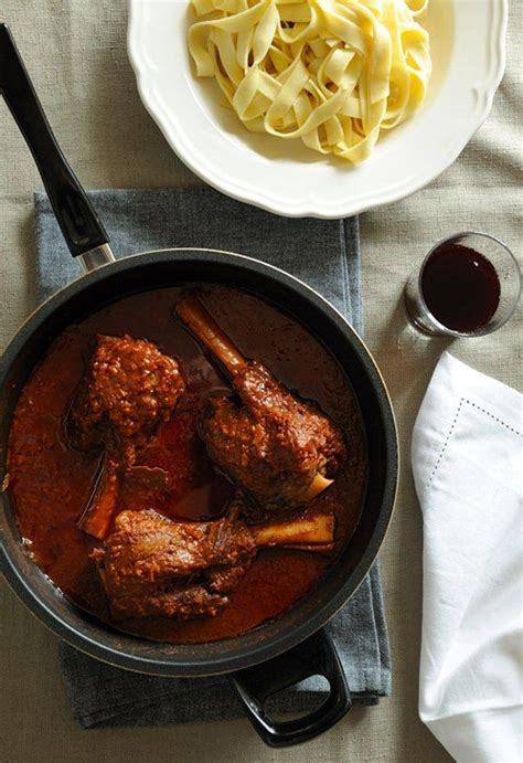 Greek Braised Lamb Shanks Recipe