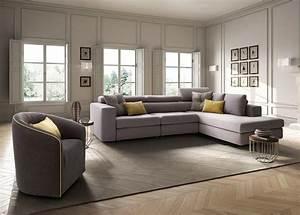 Sofa Sessel Kombination : paloma maxi divano a 3 posti mobili con chaise longue ~ Michelbontemps.com Haus und Dekorationen