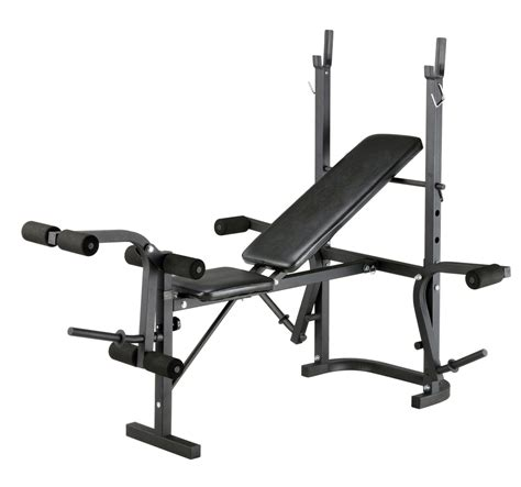 Foldable Home Gym Multi Use Weight Bench Grey Inthemarket