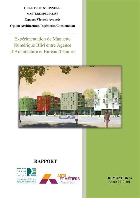 calam 233 o exp 233 rimentation de maquette num 233 rique bim entre agence d architecture et bureau d 233 tudes