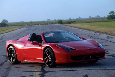 Top Speed 458 by 2013 458 Spider Hpe700 By Hennessey Performance