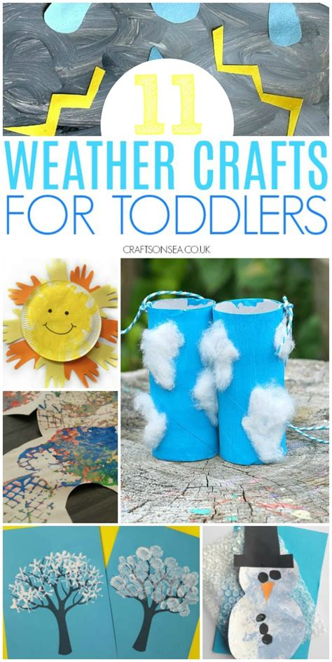 11 easy and weather crafts for toddlers crafts on sea 738 | weather crafts for toddlers preschool