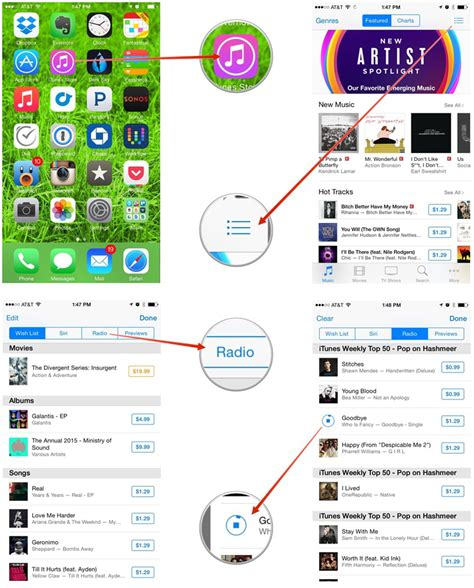how to play radio on iphone how to view your itunes radio play history on iphone and