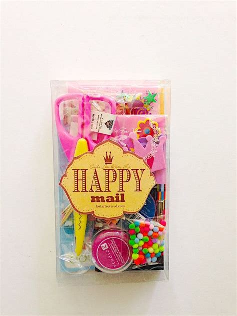 happy mail letter writing kit  pal supplies snail