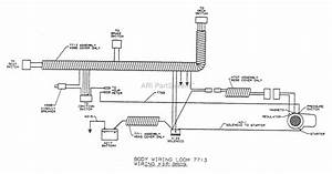Dixon Ztr 2301  1994  Parts Diagram For Wiring Assembly