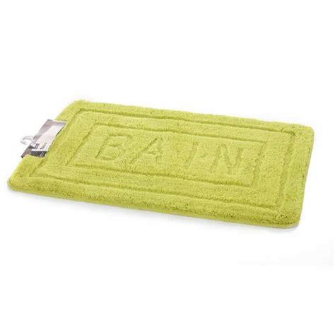 tapis de salle de bain 60x90 cm vert anis