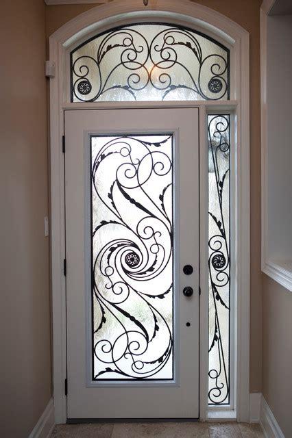 style wrought iron door inserts entry toronto by lusso design entry doors door