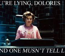 Harry Potter Dolores Umbridge Quotes