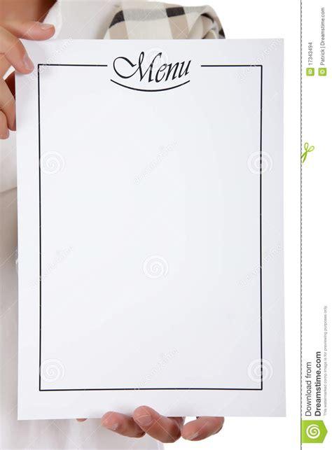 femme chef cuisine menu list chef stock images image 17343494