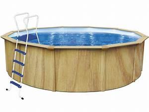 Piscine Acier Aspect Bois : piscine acier ronde aspect bois punta cana 3 6 x 1 ~ Dailycaller-alerts.com Idées de Décoration