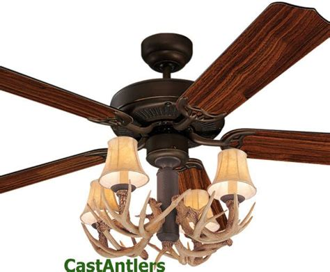 Rustic Ceiling Fans & Lighting From Castantlers
