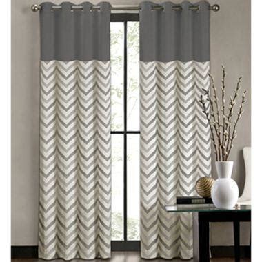 colordrift tribal stripe grommet top curtain panel  jcpenney