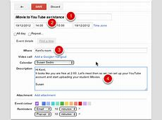 Create a Meeting in Google Calendar Adventures in