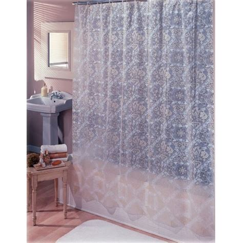 abounds at home the white shower curtain liner did