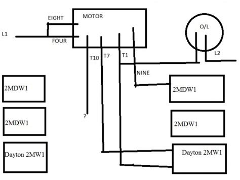 Dayton Motor With Capicitors
