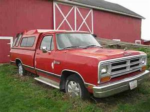 Buy Used 1987 Dodge Ram Truck D100 Custom Standard Cab