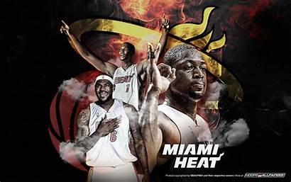 Heat Miami Wallpapers Nba Three Streams