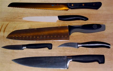 planche cuisine file various cooking knives kyocera henckels mac